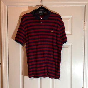 Polo Ralph Lauren Polo Shirt, XL, Red and Blue